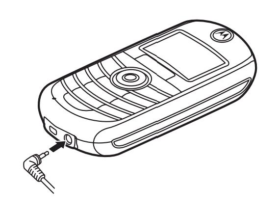 Exo Cruiser: Motorola Car Battery Power Adapter (6.4 V 1 A
