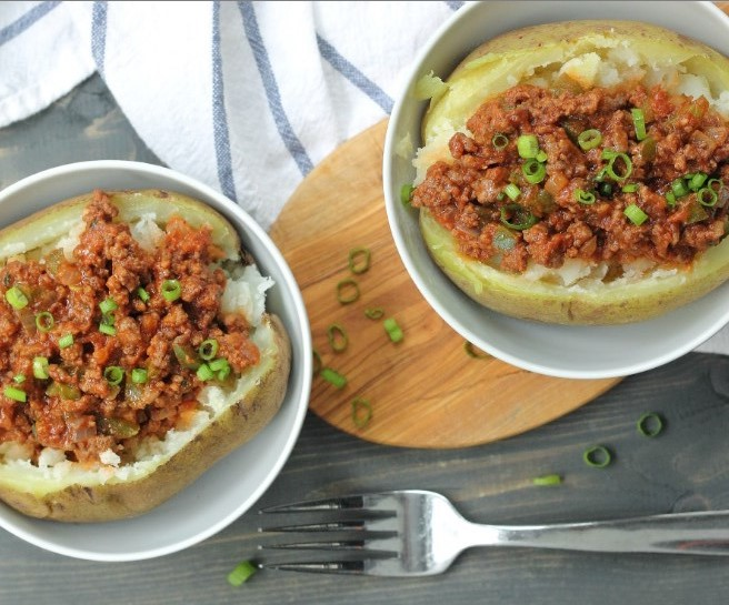 Whole30 Sloppy Joe Bowls #comfortfood #healthy