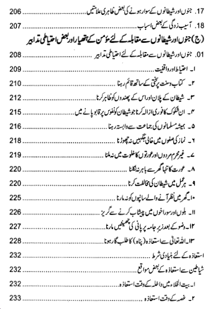 Index page 5 of Jadu ki Haqeeqat