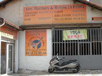 Nicolas Leroux professeur du club de Taekwondo et yoga d'Aubagne