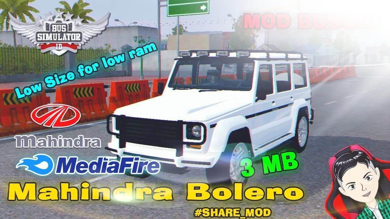 Mod Bussid Mahindra Bolero