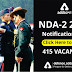 NDA 2  Notification 2019 out for 415 Vacancies, Check Eligibility Criteria, Exam Pattern and Syllabus