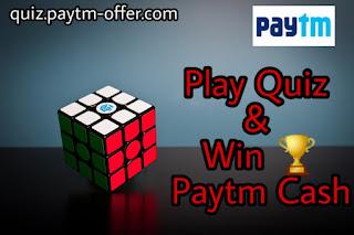 Play & Earn Paytm Cash