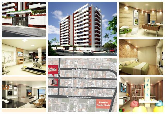 Apartamento 3 quartos suite varanda