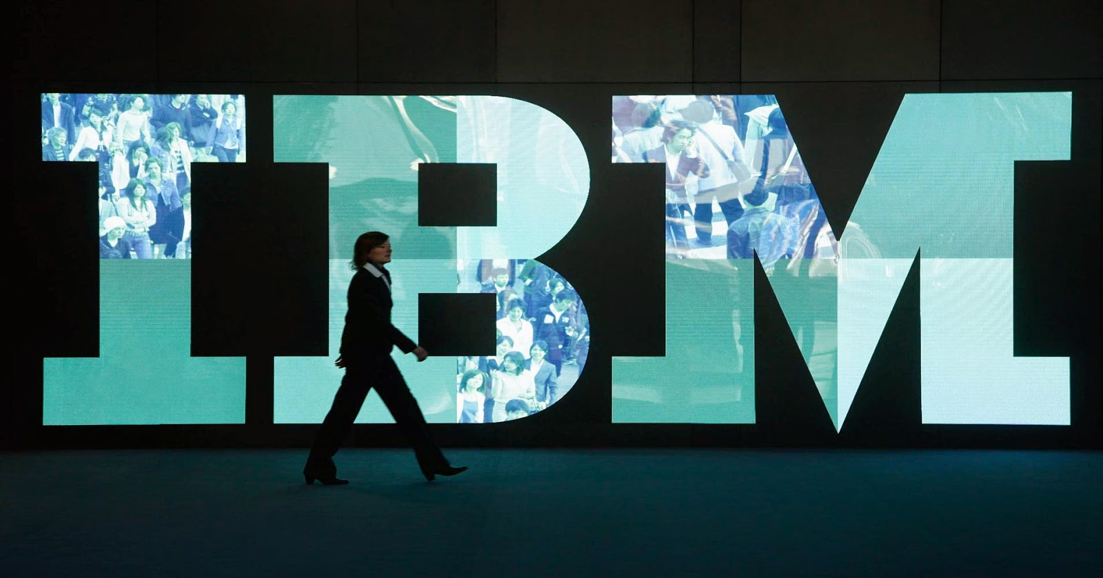 Logo da empresa IBM: International Business Machines