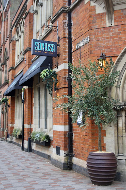 Sonrisa Leicester food review