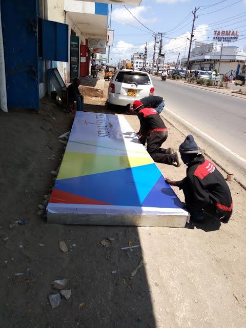 Light box signs in kenya