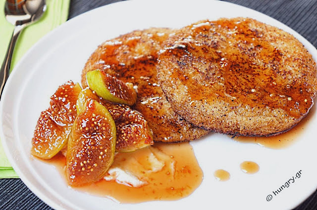 French Toast with Caramelized Figs