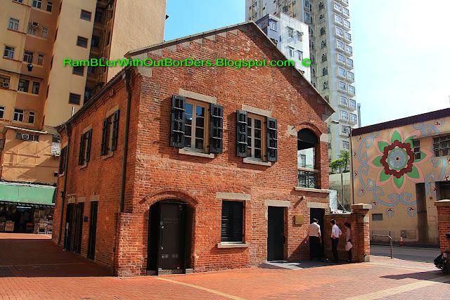 Red Brick House, Shanghai Street, Yau Ma Tei, Hong Kong