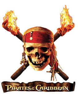 Pirates of the Caribbean Free Printable Image.