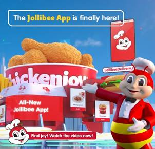 Jollibee is bringing joy online in its latest 3D animated ad for all new Jollibee App