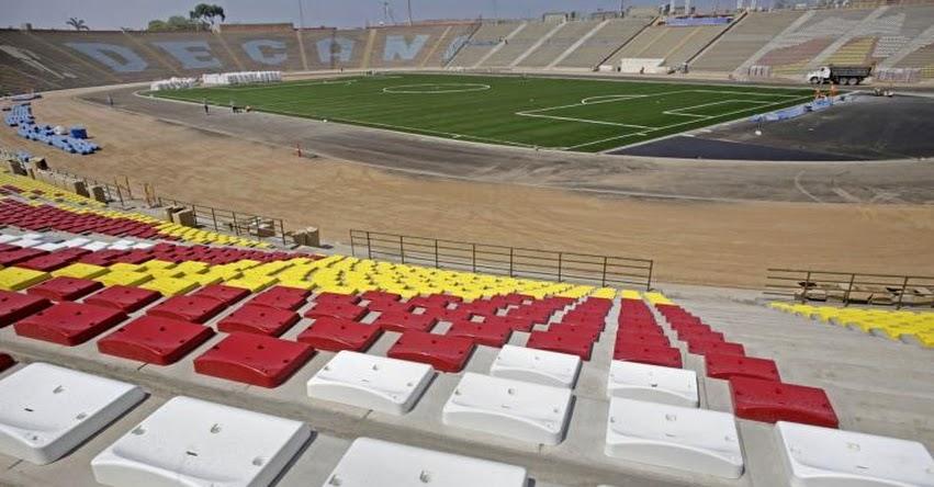 UNMSM: Estadio de la Univesidad San Marcos se prepara para Sudamericano de Fútbol Sub-17