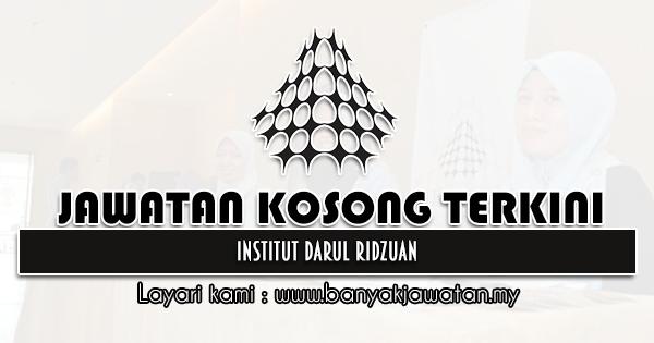 Jawatan Kosong 2021 di Institut Darul Ridzuan