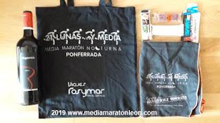 bolsa del corredor 21 lunas y media 2019