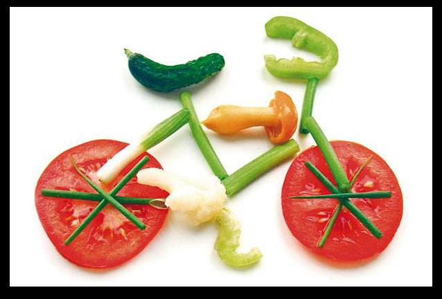 verduras y frutas - dieta vegetariana