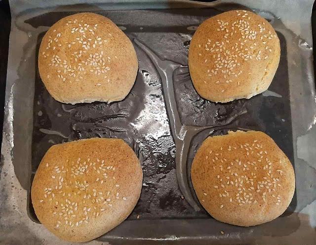 خبز كايزر كيتو