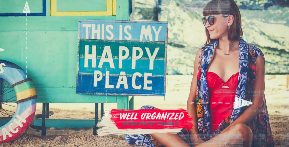 Projects - VideoHive - Summer Photo Slideshow - Happy Moments - 24292979 [AEP]
