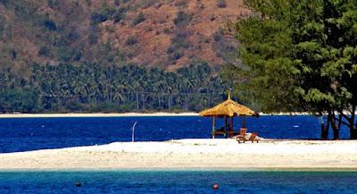 Sawarna Beach in Banten