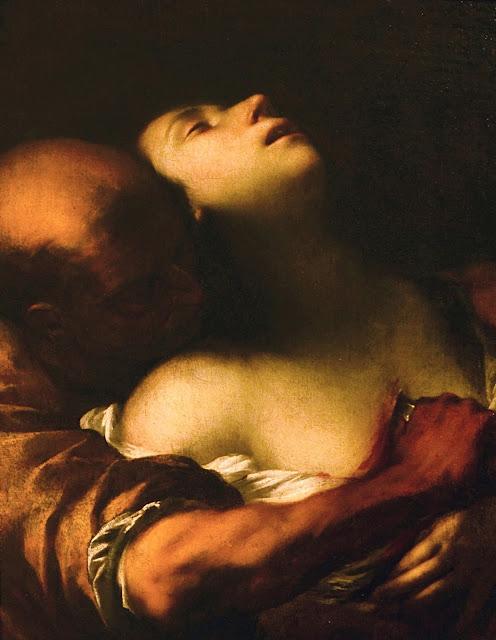 CAIRO - martirio di sant'Agnese - sex art - erotismo