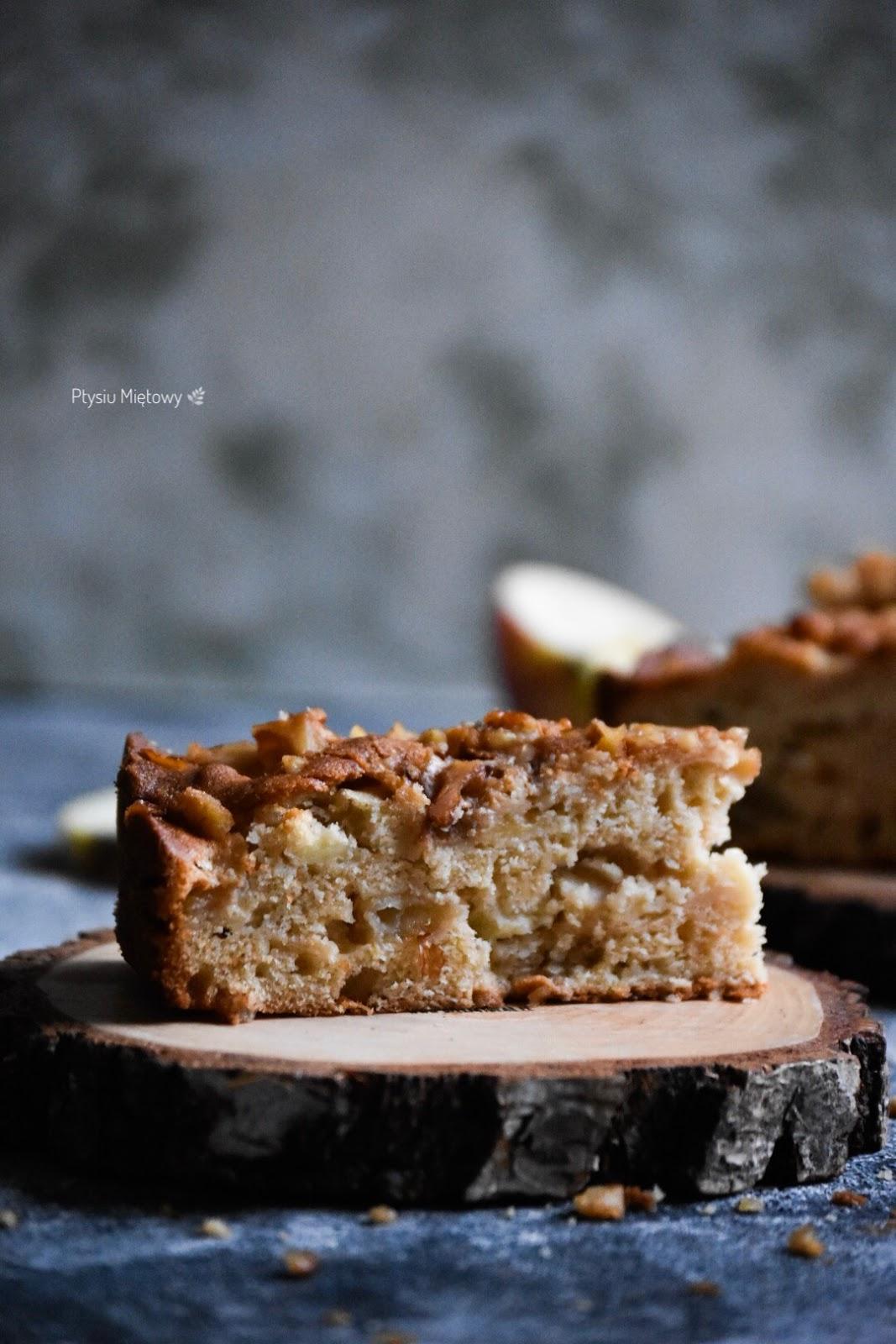ciasto, jablecznik, ptysiu mietowy