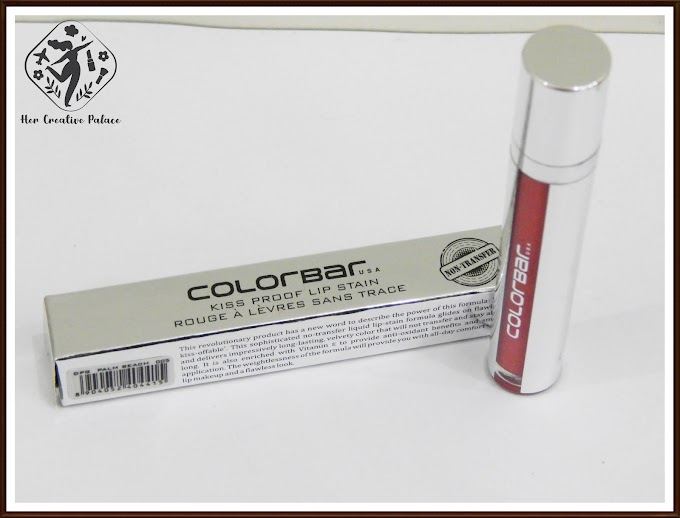 Colorbar USA Kiss Proof Lip Stain Palm Beach (005): Review, Swatch