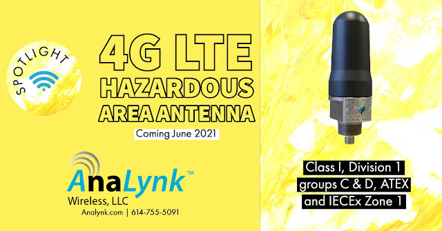 Hazardous Area 4G LTE Antenna