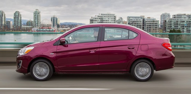 2018 Mitsubishi Mirage G4 Review