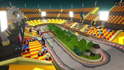 Blaze And The Monster Machines Axle City Racers Game Screenshot 4