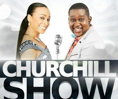 Alaine on Churchill show photo