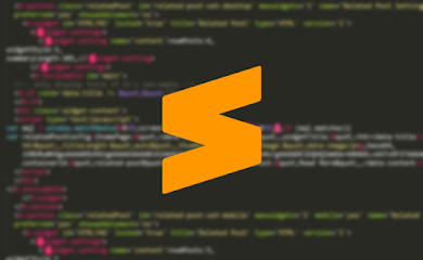 Cara Memasang Syntax Highlighter Seperti Sublime Text