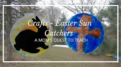 Kids Crafts, Easter, Bunny, Cross, Happy Easter, markers