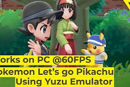 Cara bermain Pokemon Let's go Pikachu/Eevee Nintendo Switch di PC [WORKS]