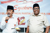 Kongres Gerindra, Arah Dukungan DPD Gerindra ke Prabowo Subianto.