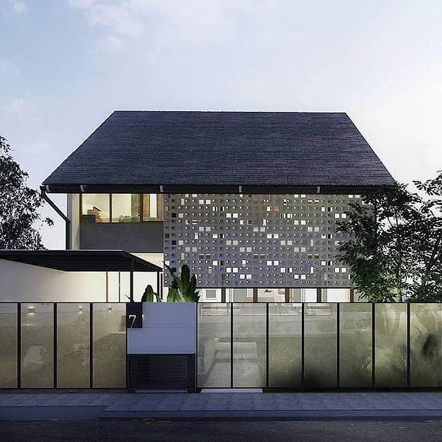 desain rumah cluster