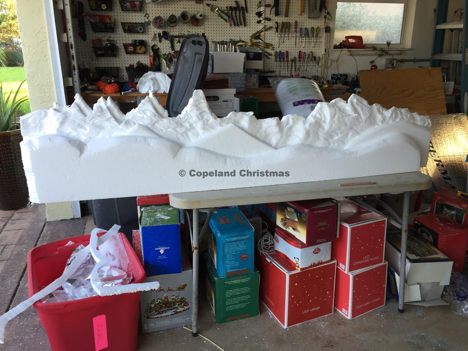 Copeland Christmas Blog Making Christmas Village Mountain
