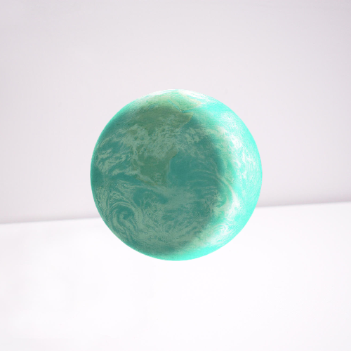 First look of the earth