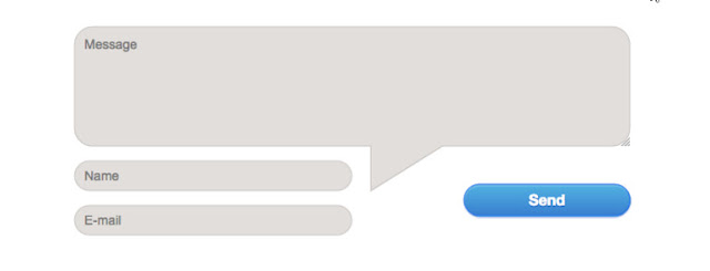 Contact Form dengan Gaya Gelembung Bicara