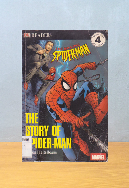 THE STORY OF SPIDERMAN, Michael Teitelbaum