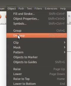 belajar material design pakai inkscape