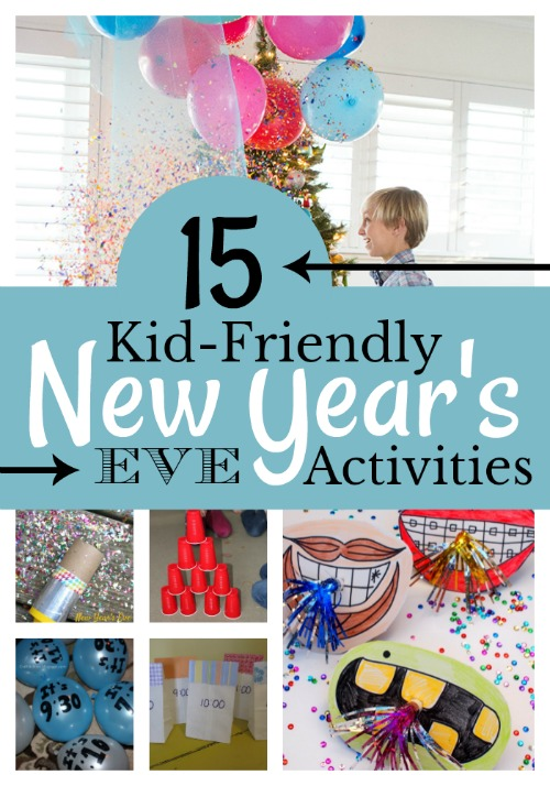 15 Kid-friendly New Year's Eve Activities on the cheap!