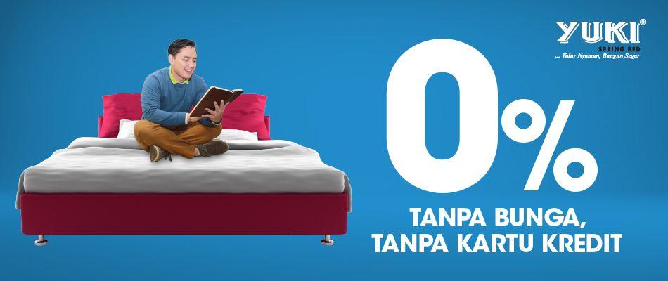 Promo kredit Furniture dan Kasur Tanpa DP Tanpa Bunga di Yuki Regency Tangerang