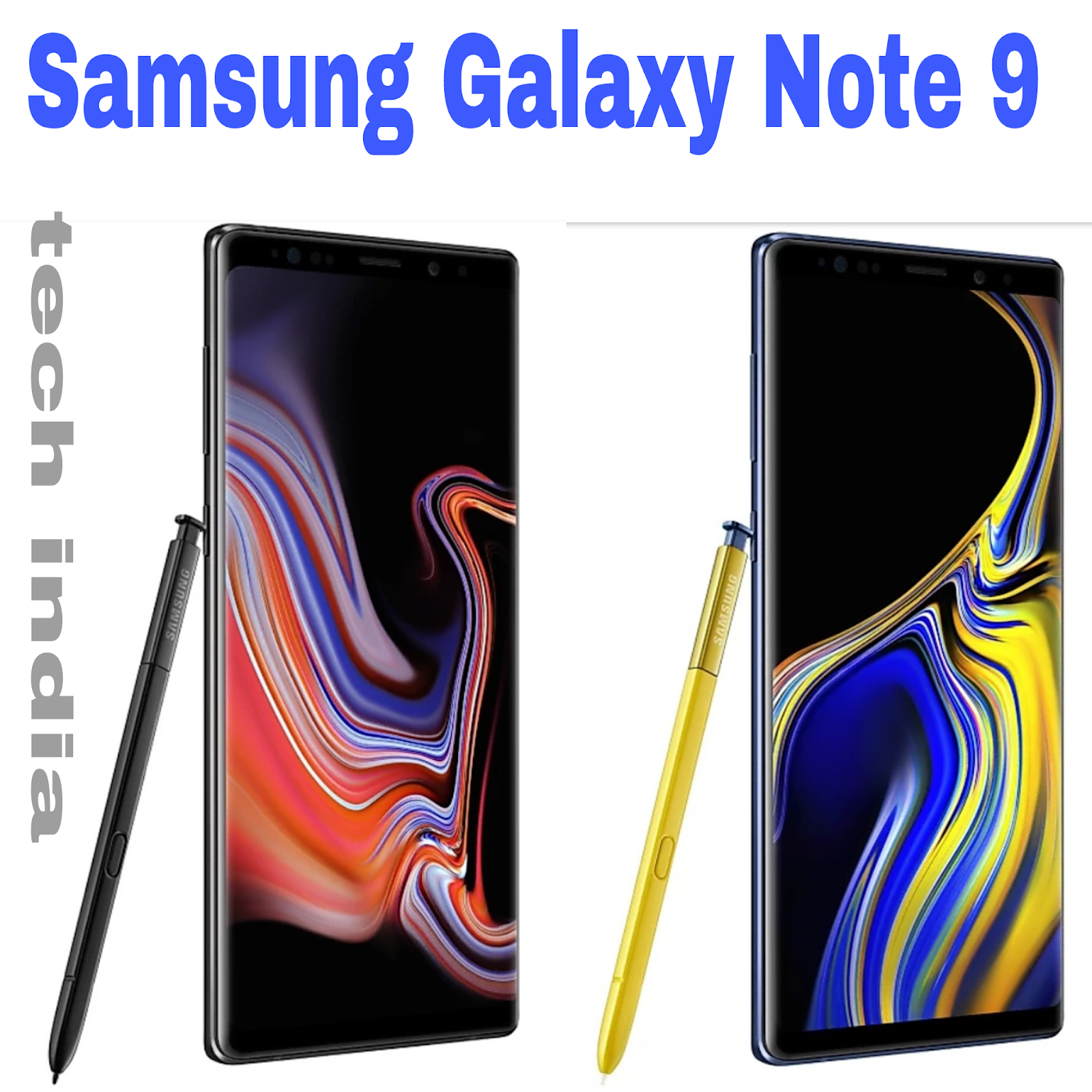 samsung galaxy note 9 price in india samsung galaxy note 9 gsmarena samsung galaxy