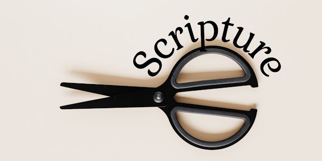 """There's a serious trend in Christianity today, and it might be called """"Cut and Paste"""" Bible study."""