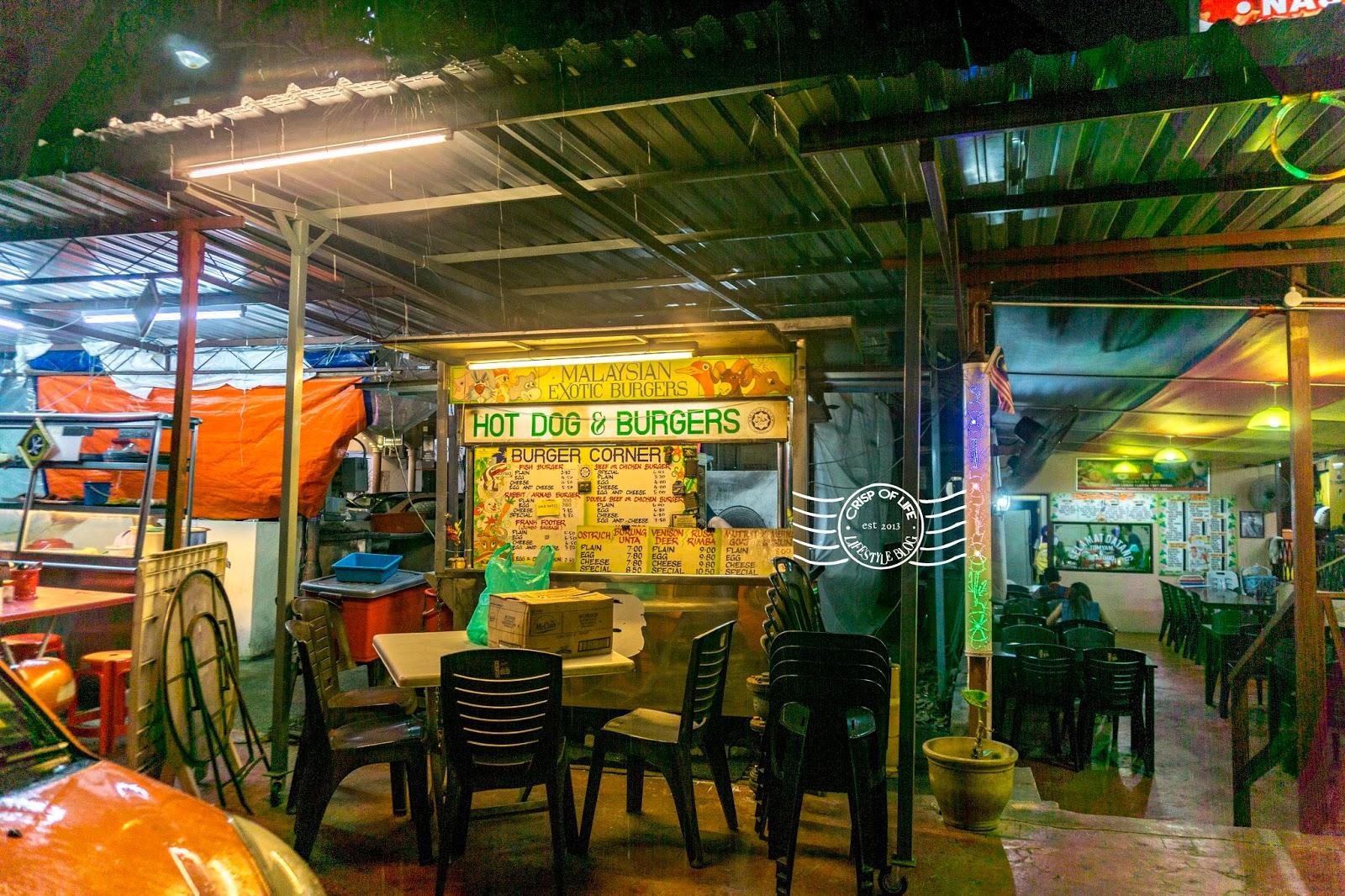 Malaysian Exotic Burgers Batu Feringghi