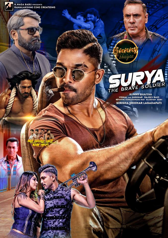Surya The Soldier (2019) With Hindi Dub Songs 720p HDRip x264 1.4GB
