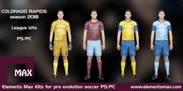 Colorado Rapids PES kits