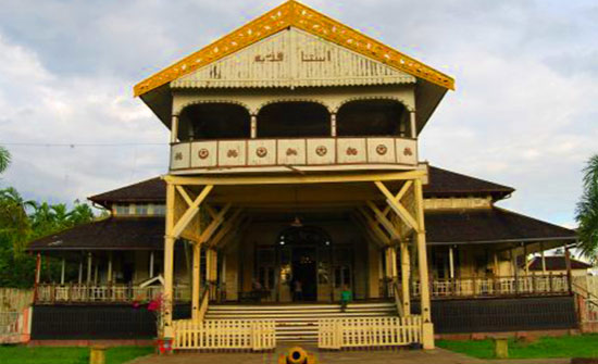 Kadariyah Palace in Pontianak. Photo courtesy STQN XXV 2019 Official website