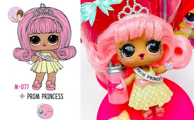 Prom Princess doll with real hair L.O.L. Surprise #Hairgoals wave 2