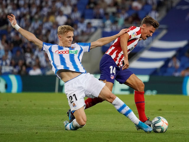 Real Madrid remember Martin Odegaard of Real Sociedad early