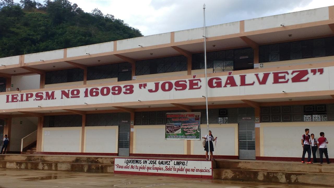 Colegio 16093 JOSE GALVEZ - Hacienda Chunchuquillo